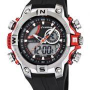 Calypso-watches-K55861-Montre-Garons-Quartz-Analogique-et-digitale-AlarmeChronomtreEclairage-Bracelet-Caoutchouc-Noir-0-0