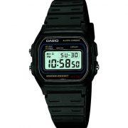 Casio-Vintage-Montre-Mixte-Quartz-Digital-Cadran-LCD-Bracelet-Rsine-Noir-0-0