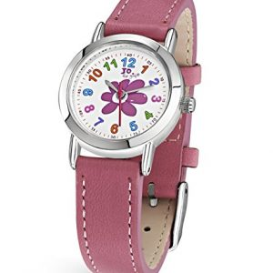 Jo-for-Girls-JW007-Montre-bracelet-Fille-Cuir-couleur-rose-0