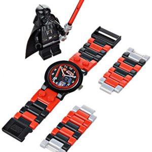 Lego-9002908-Star-Wars-Darth-Vader-Coffret-Cadeau-Montre-Enfant-Quartz-Analogique-Bracelet-Plastique-Figurine-0