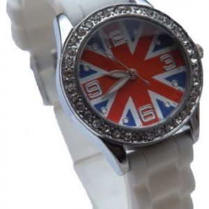 Montre-Enfant-Ado-Fille-London-Drapeau-Anglais-Union-Jack-Londres-0