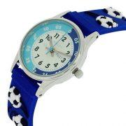 Montre-Pdagogique-Reflex-Garon-Bleue-avec-Bracelet-en-Silicone-Motifs-3D-0-0