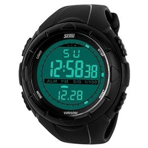 SKMEI-Montre-Enfant-Analogique-Quartz-Digitale-Sport-Militaire-digital-Montre-de-sport-de-lapne-Lumineux-Multifonctionnel-tanches-Cadran-LCD-Montre-Fille-Garon-Noir-0