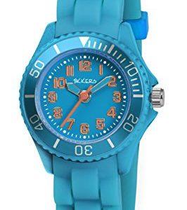 Tikkers-TK0060-Montre-Garon-Quartz-Analogique-Bracelet-Caoutchouc-Bleu-0