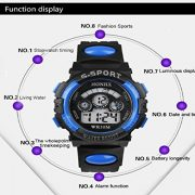 Tonsee-Impermables-enfants-garon-Digital-Quartz-LED-alarme-Date-Sports-montre-bracelet-0-0