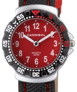 Cannibal-CJ091-06-Montre-Garon-Analogique-Bracelet-nylon-rouge-0