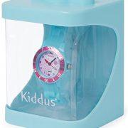 Montre-fille-pour-enfants-caisse-cadeau-submersible–leau-5ATM-ROSE-FLEUR-quartz-mcanisme-Seiko-batterie-Sony-Kiddus-KI10112-0-0