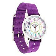 Montre-pour-enfants-EasyRead-Time-Teacher–affichage–numrique–12-et-24-heures-cadran-aux-couleurs-de-larc-en-ciel-bracelet-violet-0