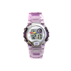 PASNEW-numrique-water-resist-30-m-transparent-shell-Montre-Mixte-enfant-pour-Sport-Quotidien-en-extrieur-170-purple-transparent-0