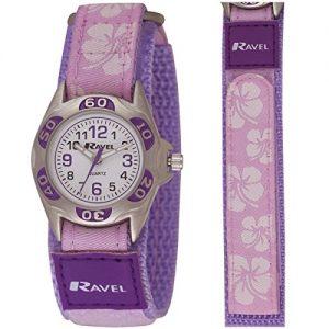 Ravel-R150720-Montre-Enfant-Quartz-Analogique-Bracelet-Violet-0
