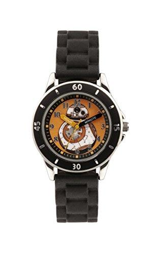 Star-Wars-SWM3046-Montre-bracelet-Garon-Silicone-couleur-Noir-0