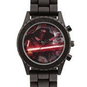 Star-Wars-SWM3053-Montre-bracelet-Garon-Silicone-couleur-Noir-0