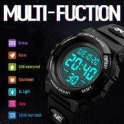 ENFANTS-Digital-montres-pour-garons-tanche-montre-de-sport-avec-alarmeTimer-Noir-pour-enfants-extrieur-lectronique-Sport-Digital-montres-pour-Teenages-garons-Vendu-par-UEOTO-0-0