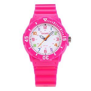 Montre-analogique--quartz-pour-filles--tanche-jusqu-5-bar-montre-pour-apprendre--lire-lheure-montre-bracelet-numrique-de-sport-avec-lunette-rotative-pour-enfants-0