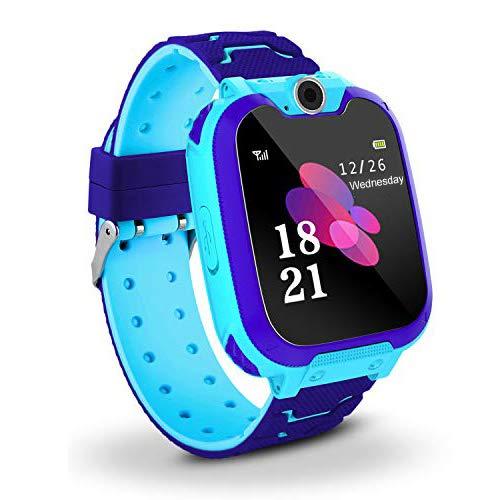 Enfants-Intelligent-Montre-154-Touchscreen-Kids-Musique-Watch-Tlphone-avec-Jeu-pour-Enfants-avec-Calculatrice-dEnregistrement-Camra-SIM-pour-Enfants-Filles-Garons-Anniversaire-Cadeaux-0