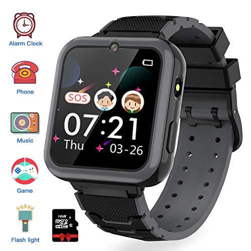 Montre-Intelligente-pour-Enfants-7-Jeux-Musique-MP3-Montre-Enfants-Fille-Garon-Appels-Tlphoniques-Montre–cran-Tactile-pour-Enfants-Camra-SOS-Smart-Watches-3-12-Ys-0